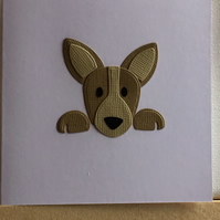 A small dog card suitable for any occasion. CC380