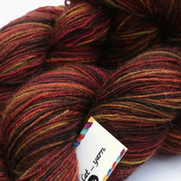 Seaweed - Superwash Bluefaced Leicester 4 ply yarn