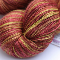 Ochils in Autumn - Silky baby alpaca laceweight yarn