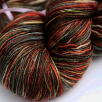 Trying to Snow - Superwash Bluefaced Leicester 4 ply yarn
