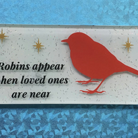 Robins appear tile