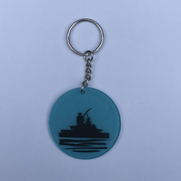 Fishing with Dad keyring