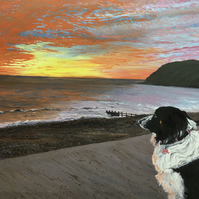 Nellie at St. Bees print