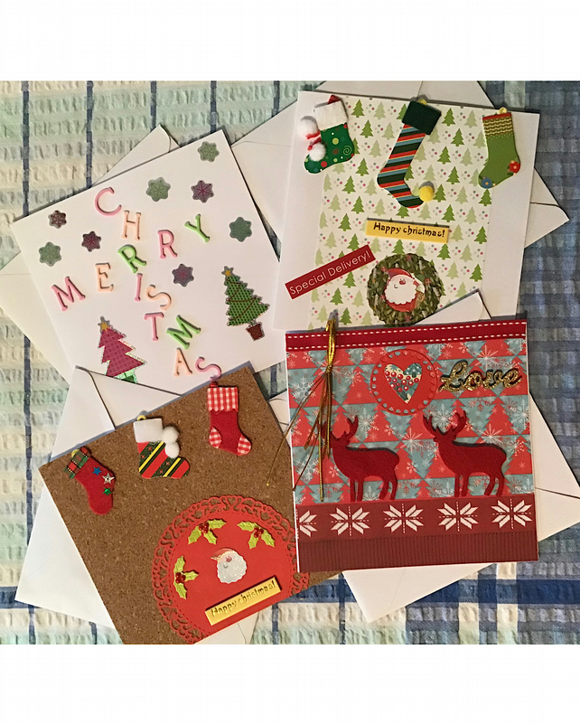Set Christmas cards
