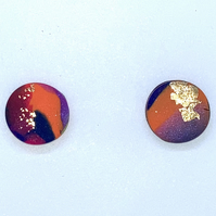 Tropical stud earrings