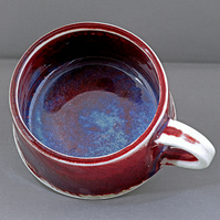 Pottery cup 9816 porcelain h60 x 105mm 365g
