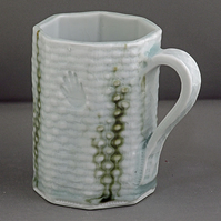 Pottery  mug 9806 porcelain h105 x 100mm 400g