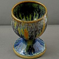 Pottery  goblet 9694 stoneware h106 x 84mm 312g