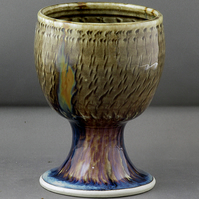 Pottery  goblet 9698 stoneware h109 x 78mm 268g