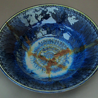 Pottery bowl 9726 porcelain h60x210mm 645g