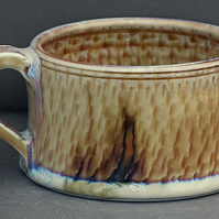 Pottery mug 9887 porcelain h59 x 93mm 309g