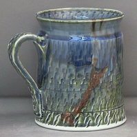 Pottery mug 9866 porcelain h85x92mm 343g