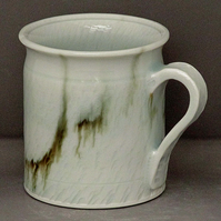 Pottery  mug 9861 porcelain h94 x 87mm 372g