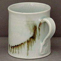 Pottery  mug 9862 porcelain h94 x 85mm 378g