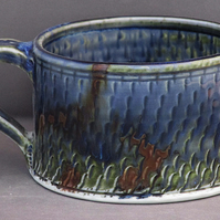 Pottery cup 9889 porcelain h60x92mm 297g