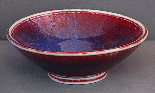 Pottery bowl 9890 porcelain h55x161mm 400g