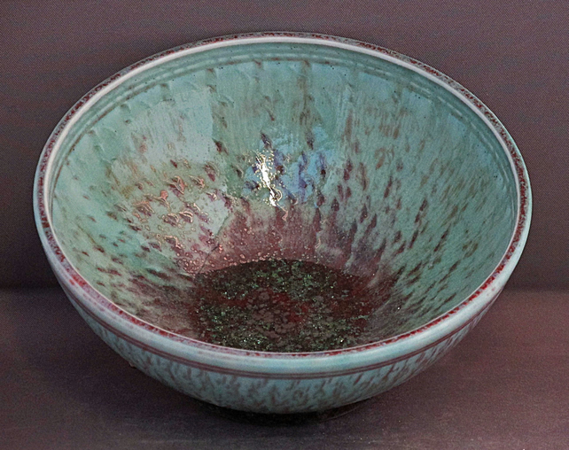 Pottery bowl 9893 porcelain h57x132mm 311g