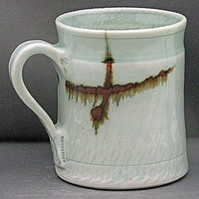 Pottery mug 9936 porcelain h98 x 83mm 359g