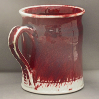 Pottery mug 9919 porcelain h100 x 80mm 406g