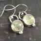 Phenite sterling silver earrings