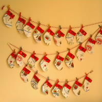 Advent Calendar- little Christmas stockings