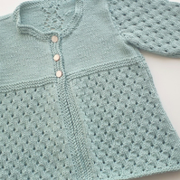 Lace Baby Cardigan 6 - 12 months