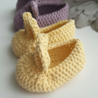 Bunny Slippers 6 - 9 months