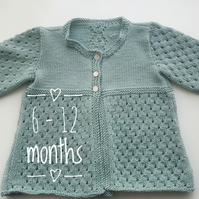 Baby Cardigan 6 - 12 months