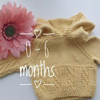 Baby Hoodies 0 - 6 months