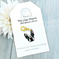 French Bulldog Stitch Marker