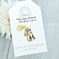 Tabby Cat Stitch Marker