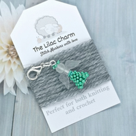 Angel Stitch Marker - Green