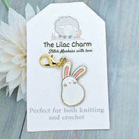 Kawaii Rabbit Stitch Marker