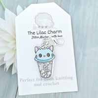Kawaii Cat Stitch Marker