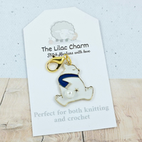 Polar Bear Stitch Marker