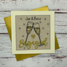 Engagement Card, Personalised Card