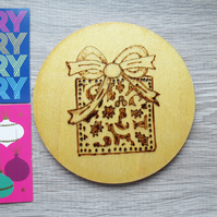 Coaster - Christmas gift design
