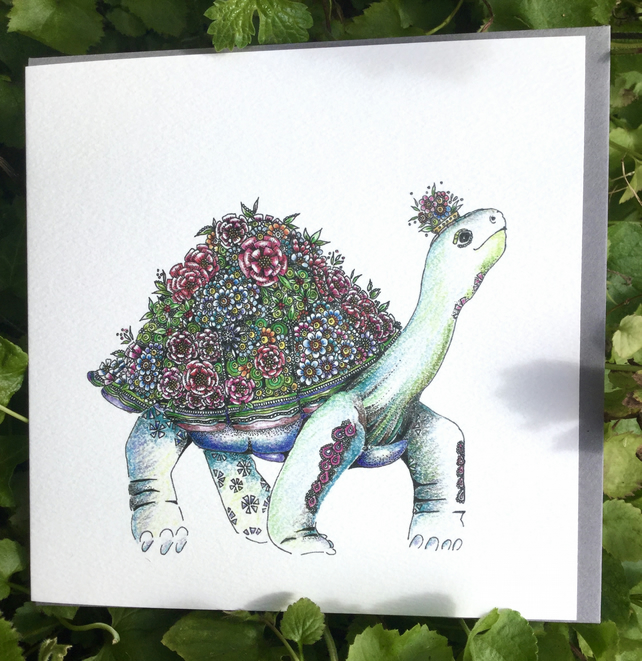 BRAND NEW Tortoise Greeting card