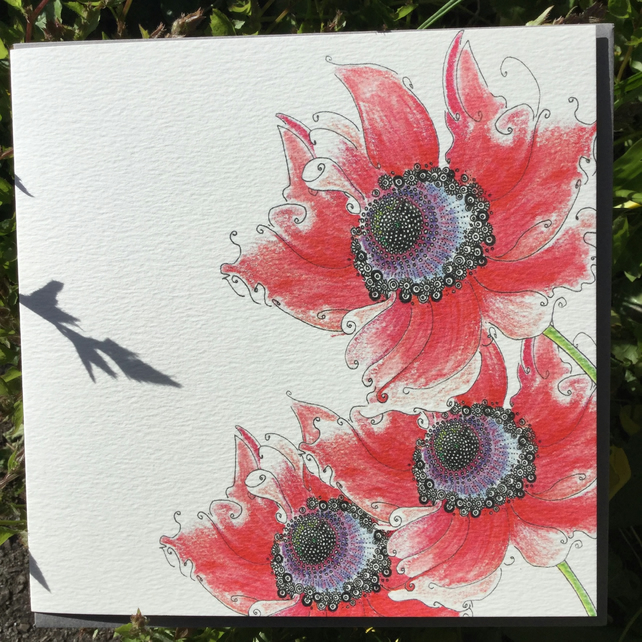 Beautiful Poppy Greeting card