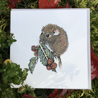 Little Dormouse Greeting card