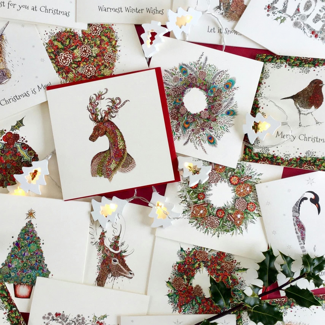 20 x Christmas Traditional pack of cards (a mixed pack from all of my Christmas