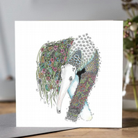 Giant Ant Eater Greeting card