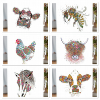 NEW Countryside Collection set of 6 cards  (inc Honey Bee)