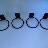 Plant Pot Rings ............Wrought Iron(Forged Steel)Hand Crafted Free Fittings