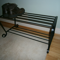 Hand Crafted Shoe Rack..............................Custom Made on Request!
