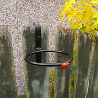 Plant Pot Ring Holder................................Wrought Iron (Forged Steel)