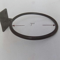 "7"" Plant Pot Ring Holder.............................Wrought Iron (Forged Steel)"