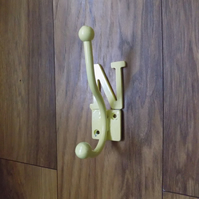 Lettered Double Coat Hook..........................Wrought Iron (Forged Steel)