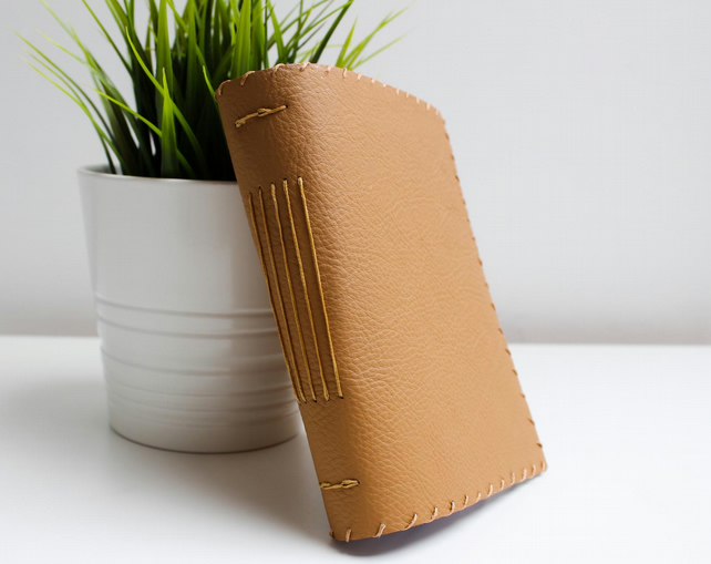 A6 Leather notebook