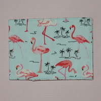 Travel card wallet Flamingos
